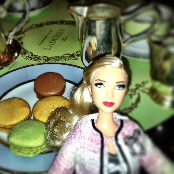 Laduree Barbie