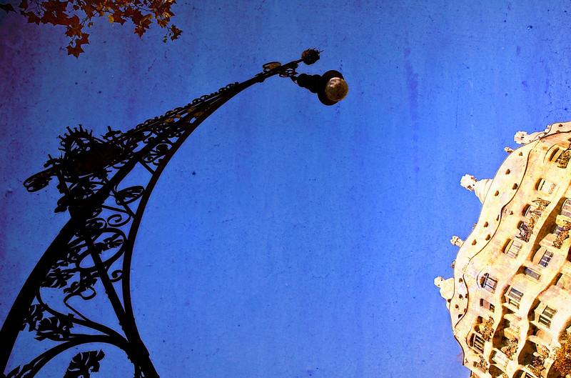 Barcelona -<br /> Street Lamp