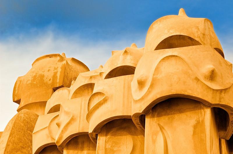 Barcelona Gaudi -<br /> The Watchers