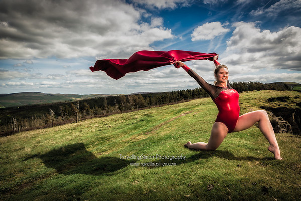 "Here's a previously unseen shot from a fantastic photo shoot I did with the lovely Jenni Pinches, one of our Team GB London 2012 Olympic gymnasts, on location at Windgather Rocks. Jenni was in the Team GB women's artistic gymnastics team that reached the final and who all gave an inspirational performance.  After the Olympics, Jenni, in order to go back to finish her A-Levels and travel, retired from competing for Team GB. This Summer she was even invited to Buckingham Palace.  She is now excited to be embarking on a new journey in both her continuing studies AND a return to competitive gymnastics. She is joining the UCLA Bruins Gymnastic team at the University of California, Los Angeles, which is one of the most respected teams in the NCAA intercollegiate sports championships with great facilities, coaching and support for their athletes.  We all wish a huge ""Good Luck"" to Jenni as she continues to fly the flag and D.F.T.B.A!further pictures from the photo shoot can be found at http://www.travellingsimon.com/Portfolio/Barnaby-2013-Exhibition/Metamorphosis-of-the-Body  You can follow Jenni's continuing adventures on her blog, http://jenniferpinches.blogspot.co.uk/ and Twitter, https://twitter.com/jempin515  More about the Bruins can be found at http://www.uclabruins.com and http://en.wikipedia.org/wiki/UCLA_Bruins"