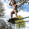 27+. Metamorphosis of the body - Leo Oppenheim- Indo Slackline