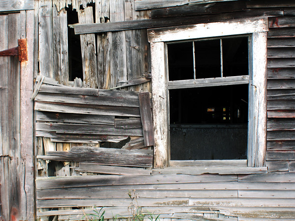 Vermont Barn Window