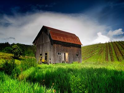 Colene Clemens Winery Barn