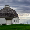 """First""  Prototype round barn, University of Illinois, Champaign"