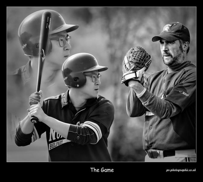 Northstars baseball_The Game_BW