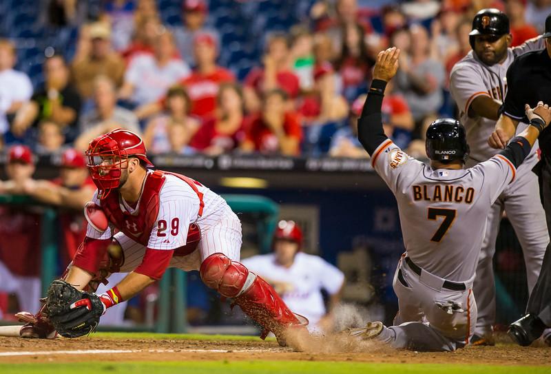 MLB: JUL 22 Giants at Phillies