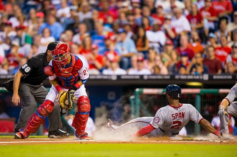 MLB: AUG 27 Nationals at Phillies