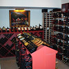 Cherry Bluff Basement Wine Cellar:<br /> <br /> The wine cellar is a temperature controlled walk-in refrigerator for long-term storage of the clients extensive fine wine collection.