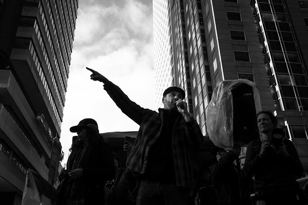 San Francisco Inaugural Protest - 01/20/2017