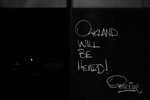 Trump Protest - Oakland, CA