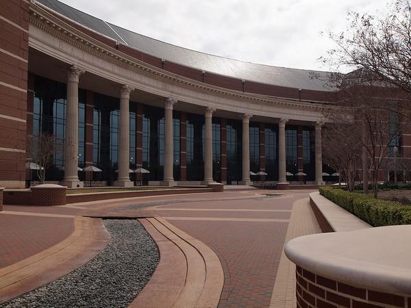 Baylor University Campus, March 6, 2010