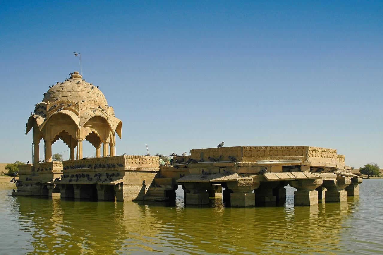 Gadi Sagar Lake, Jaisalmer, Rajasthan, India