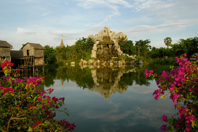 Cultural Village at Siem Reap, Cambodia