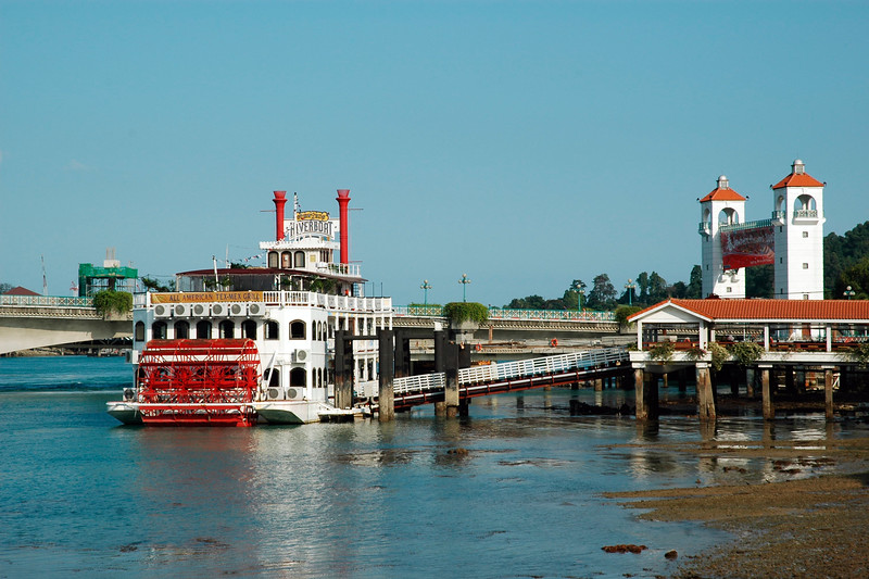 Steward's River Boat on Sentosa Island, Singapore