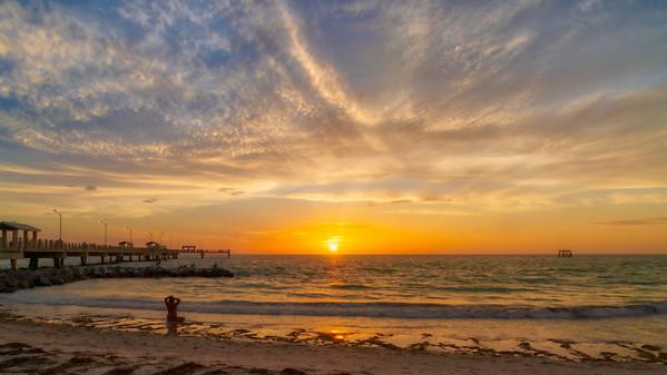 Epic Saturday Sunset