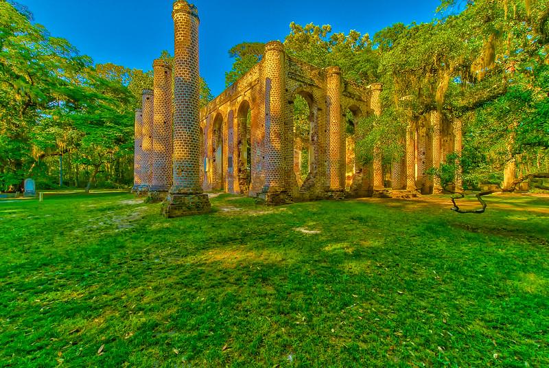 Plantation Ruin Side