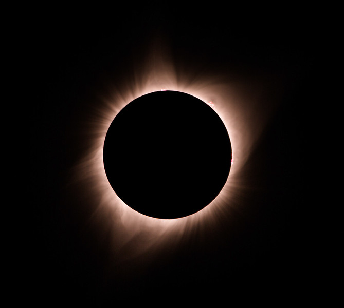 Solar Eclipse Jackson Wyoming Summer 2017