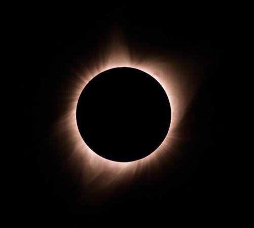 Solar Eclipse Jackson Wyoming Summer 2017