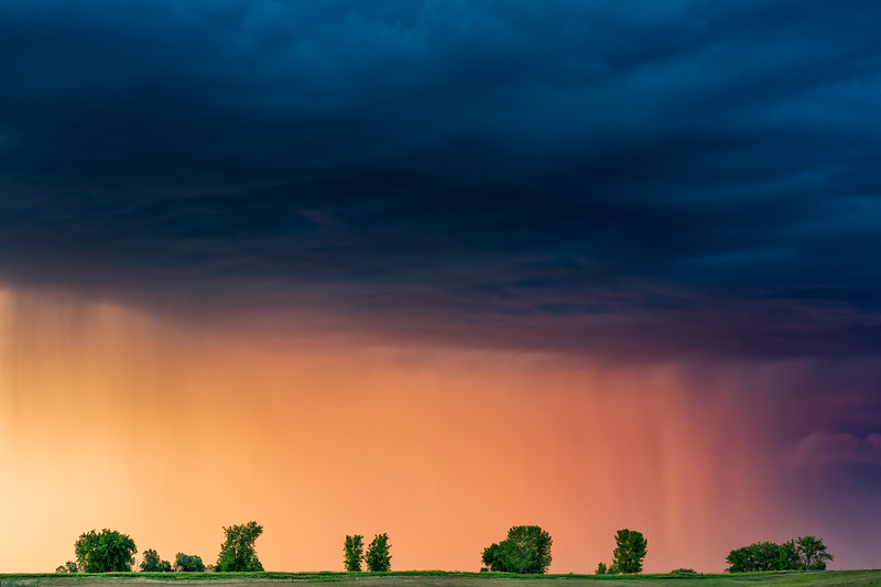 Spring Storm in Boulder Colorado