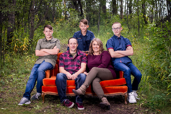 Family Photos - Sylvan Lake Alberta