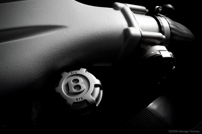 Bently engine oil cap detail
