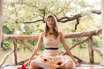 Yogi, Ko Im, Lifestyle shoot in Central Park, NY