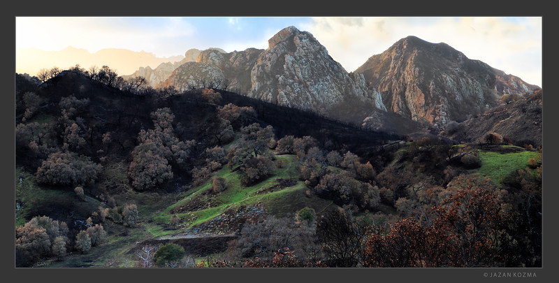 Beauty For Ashes - Malibu Creek State Park Panorama