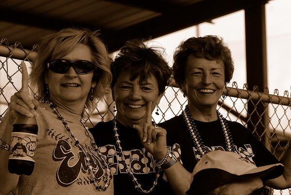 Becky Garcie, Pat Chapman and Martha Ellis