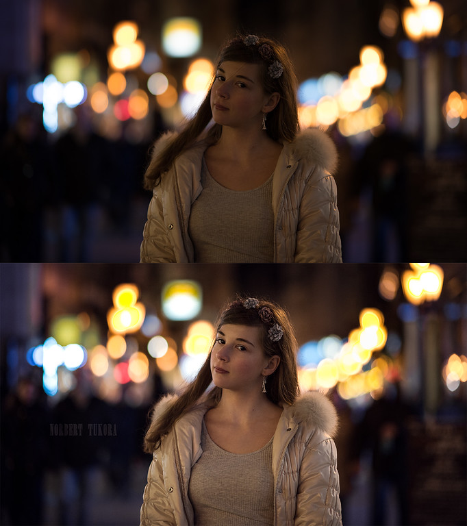Anna - Night portrait