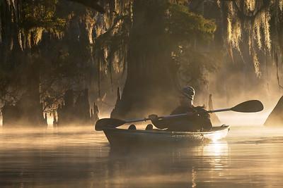 Kayaking Louisiana Swamps