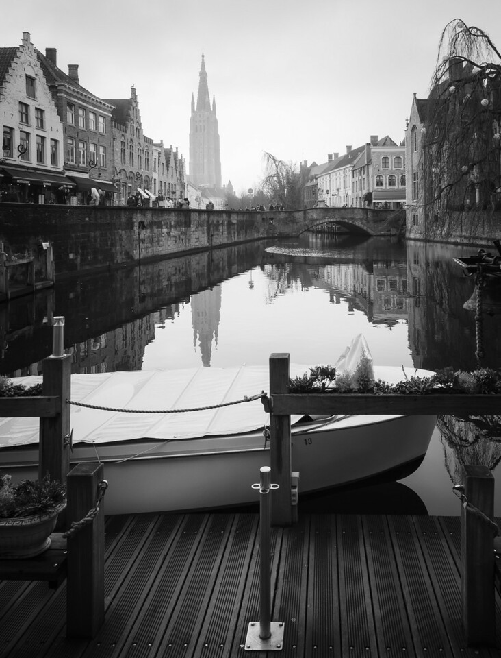 Bruges before Christmas