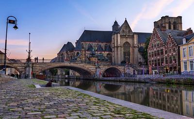 Bridge in Gent
