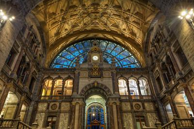 Antwerp Central Station Entrance