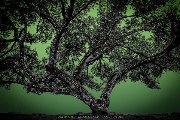 Believe Tree - Green