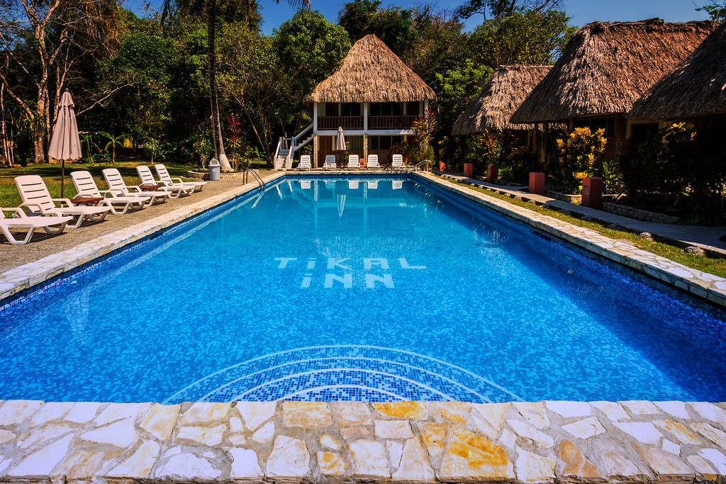 The Pool at Tikal Inn (Tikal, Guatemala)