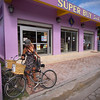 Getting Eggs, Ambergris Caye - Belize<br /> <br /> A rusty bike gets you to the market for eggs, tortillas, peppers - and coconut rum.