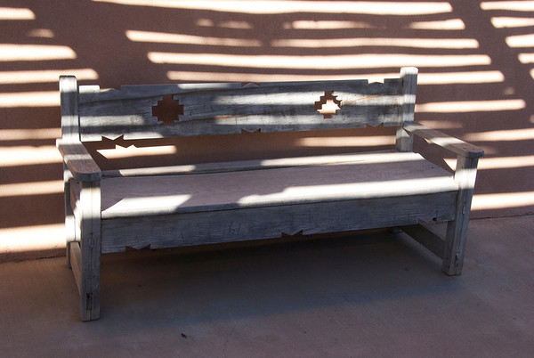 Aztec Bench, Santa FE (c) Daniel Yoffee