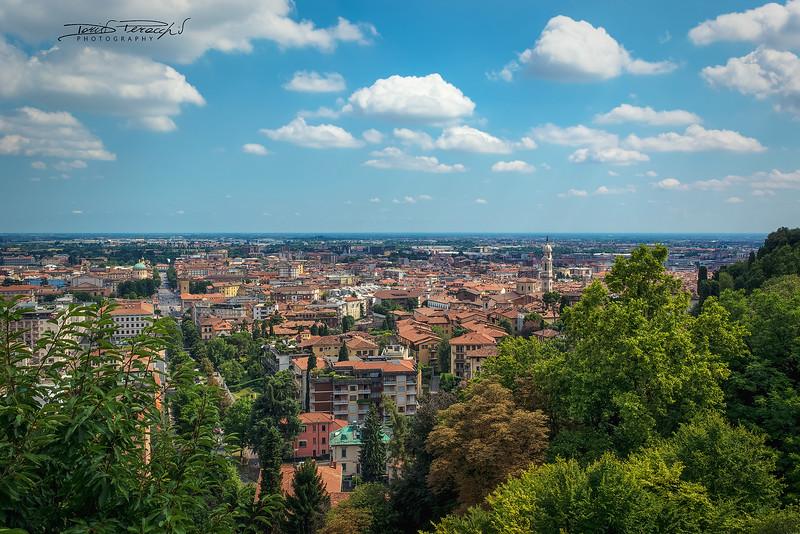2017 - Panoramica Da Città Alta