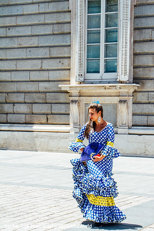Flamenco dancer, Madrid, Spain