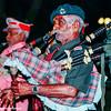 Evening performance, musicians, Judge's Court, Pragpur, Kangra Valley, Himachal Pradesh