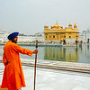 Security, Golden Temple, Anritsar, Punjab, India