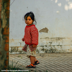 Girl, Pragpur Heritage Village, Kangra Valley, Himachal Pradesh