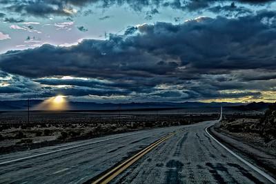 Route 66 near Amboy, Calif.