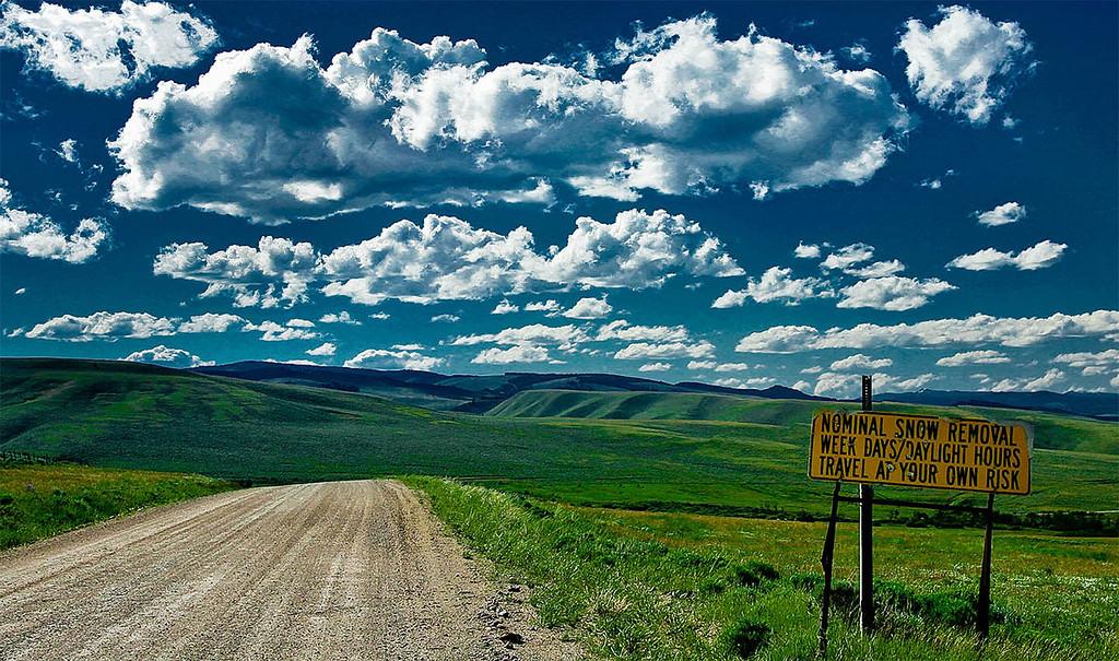 Somewhere in Montana!