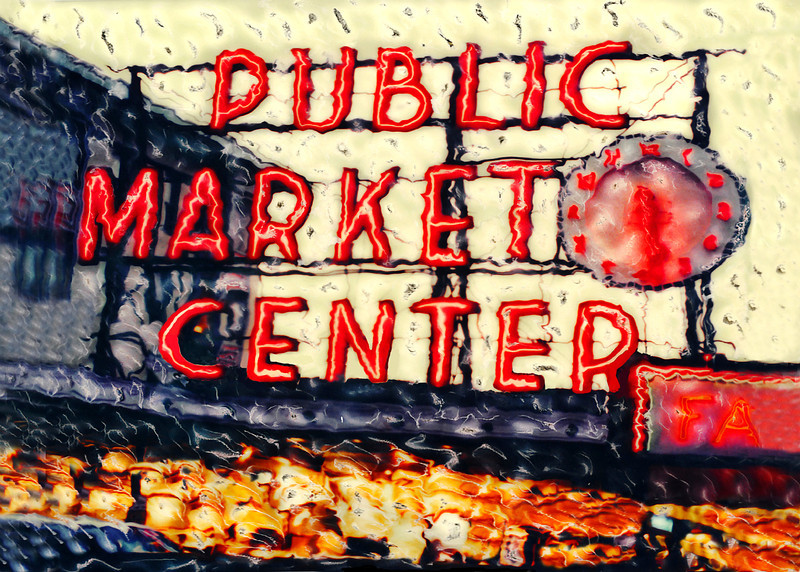 #246 Public Market Center Sign