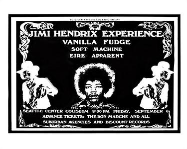 #268 Seattle Center Coliseum concert annoucement