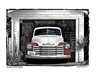 #281 Old Chevy Truck