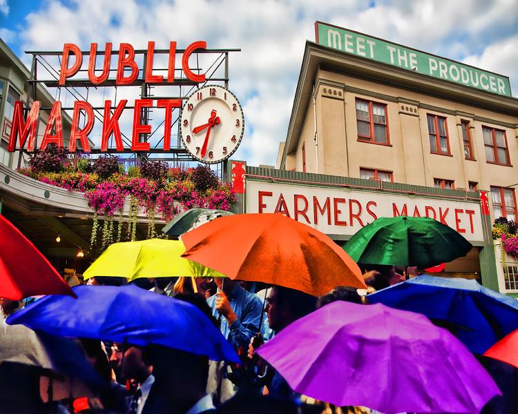 #CM220 Rainbow Umbrellas