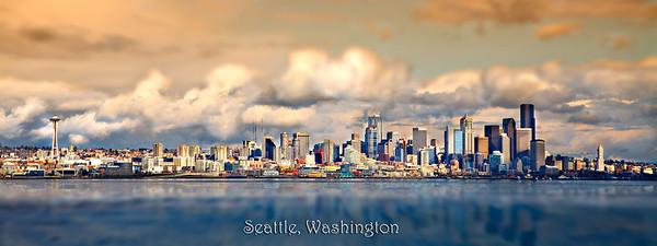 #724 Seattle Skyline