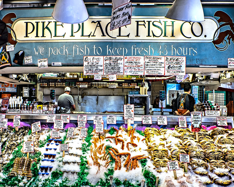 #15439 Pike Place Fish Company